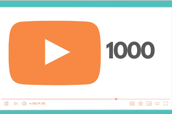 1000 Cheap YouTube Views